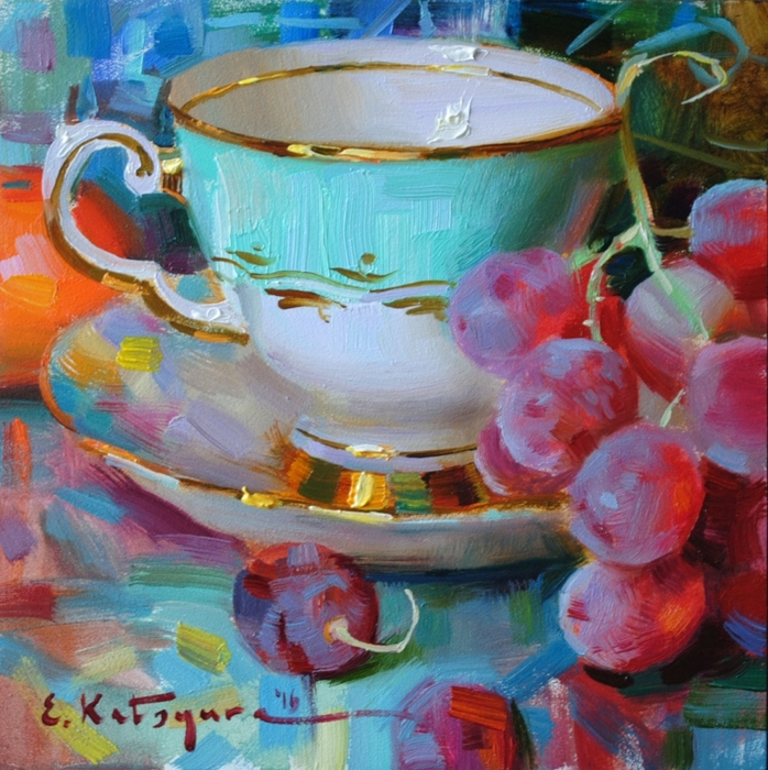5229398_Teacup_and_Red_Grapes (698x700, 396Kb)