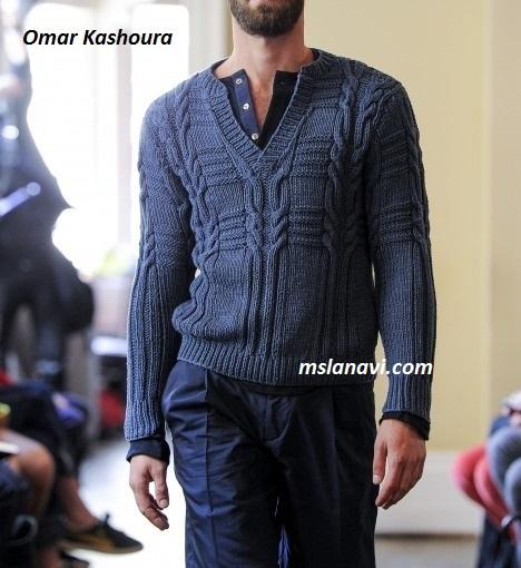 мужской-свитер-спицами-2 (468x510, 81Kb)