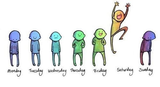 Происхождение названий дней недели. Как детям запомнить?