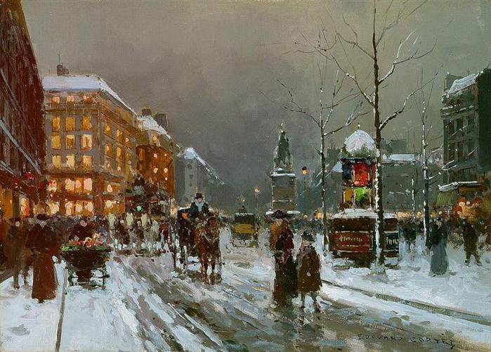014. Place de Clichy in winter-large (700x501, 420Kb)
