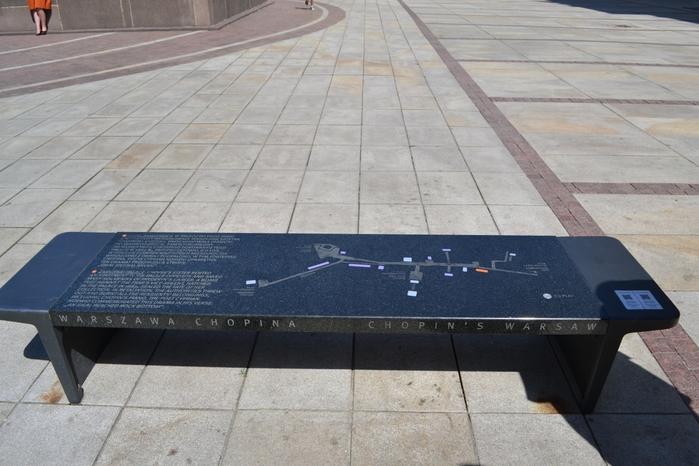 Музыкальные скамейки Варшавы