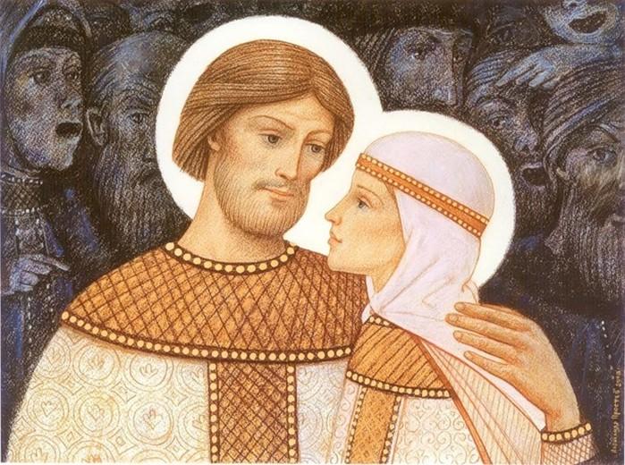 7 знаменитых русских влюбленных пар