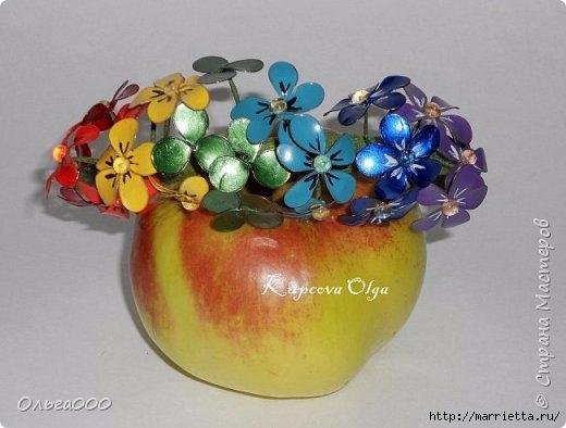 Цветы handmade из витражных красок. Мастер-класс (3) (520x394, 103Kb)