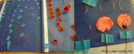 Цветы handmade из витражных красок. Мастер-класс (9) (520x210, 66Kb)