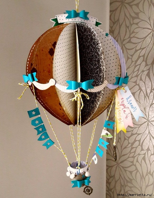 Воздушный шар, делаем своими руками