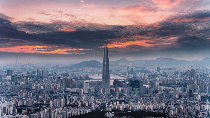 небоскреб Lotte World Tower в сеуле 4 (700x392, 310Kb)