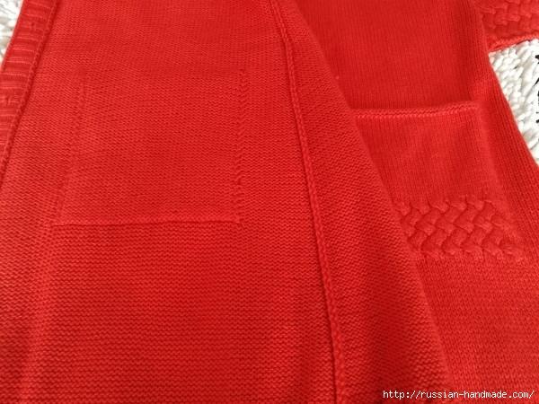Очень красивое длинное пальто спицами (2) (600x450, 194Kb)