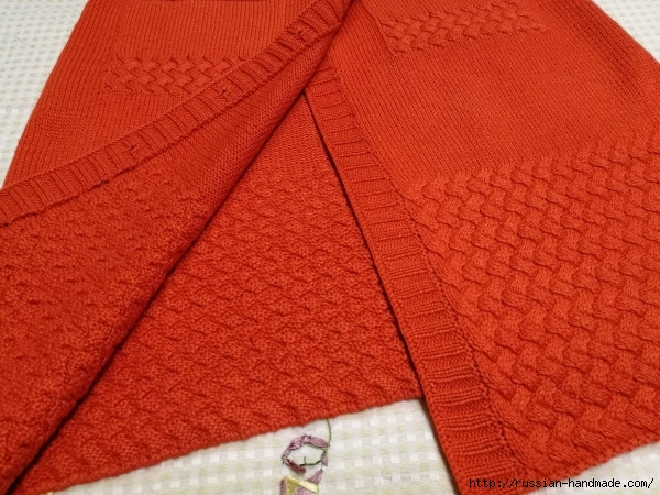 Очень красивое длинное пальто спицами (10) (600x450, 231Kb)