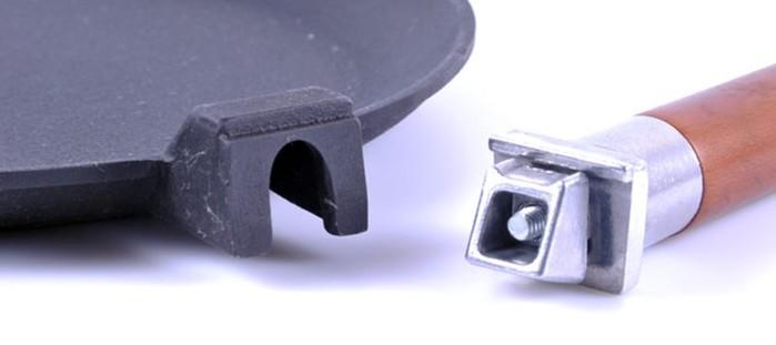 Съёмная ручка в Вашей посуде, как ей пользоваться?