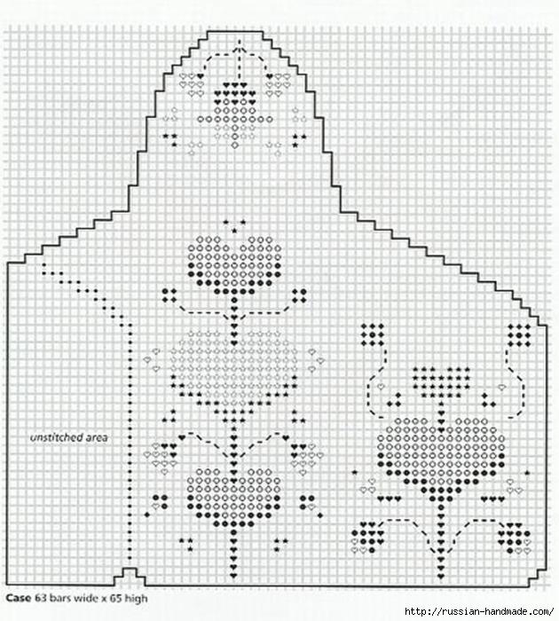 Очечники из пластиковой канвы с вышивкой (9) (630x700, 295Kb)