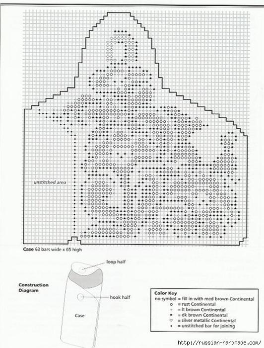 Очечники из пластиковой канвы с вышивкой (11) (532x700, 260Kb)
