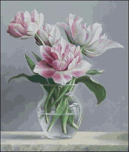 Нежные тюльпаны_А (429x505, 247Kb)
