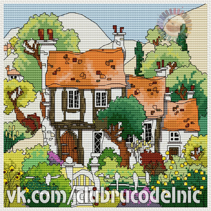 Cottage Garden 1 (700x700, 907Kb)