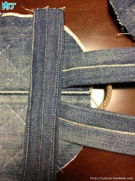 Шитье детского рюкзака из старых джинсов (1) (523x700, 328Kb)