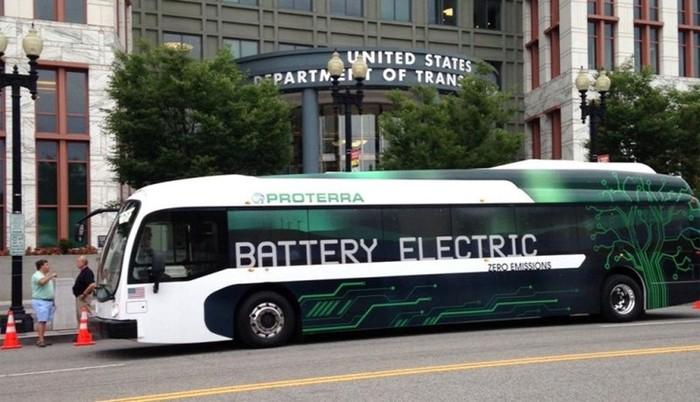 В Лос-Анджелесе появится парк электрических автобусов