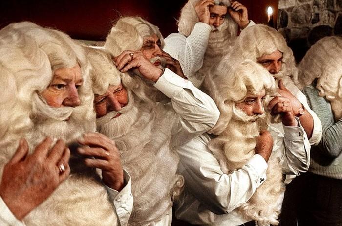 Новогодний винтаж. Как выглядел Санта-Клаус 100 лет назад
