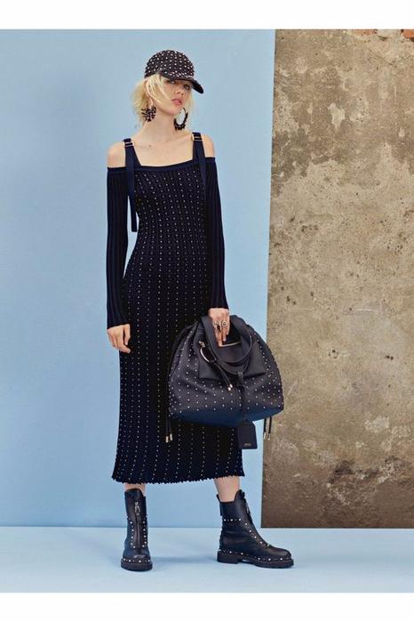 Идеи для вязания платьев