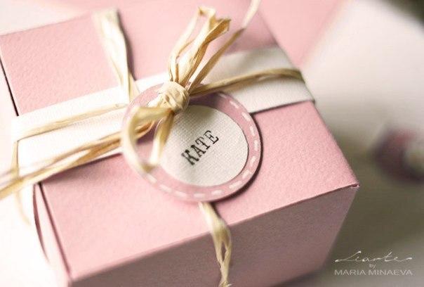 Упаковка для подарка. Мастер-класс. Шаблон.