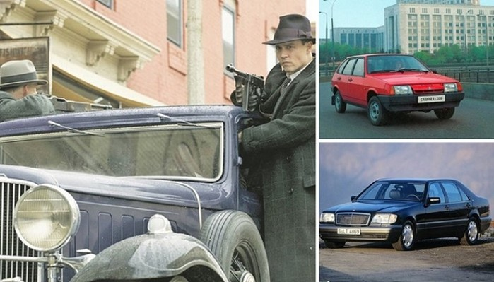 10 автомобилей, которые были культовыми для бандитов разных стран