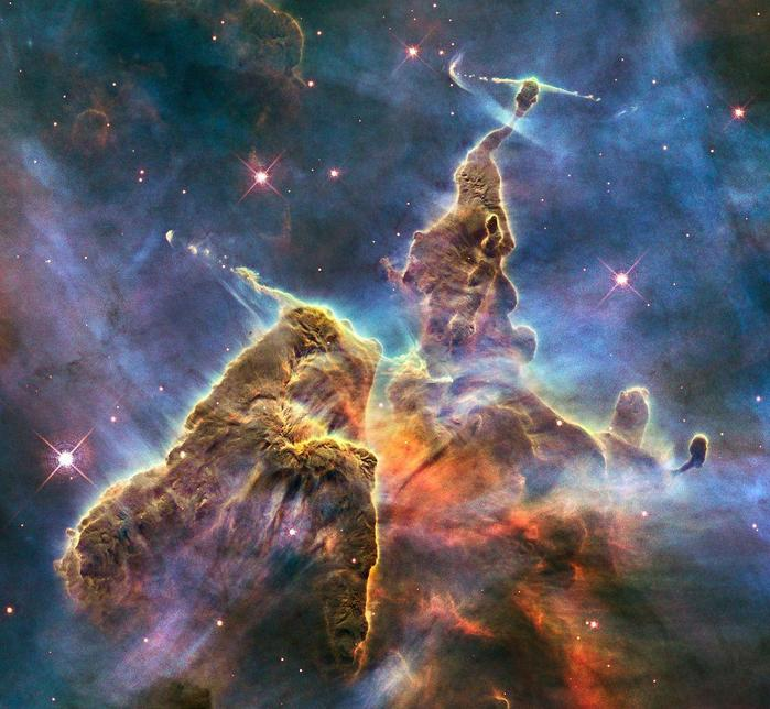 Какие туманности в нашей галактике
