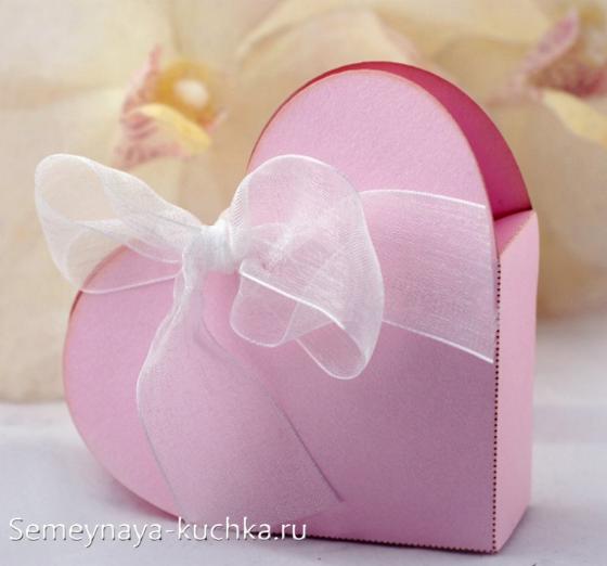 Упаковка для подарков к Дню Святого Валентина. Мастер-классы. Шаблоны.
