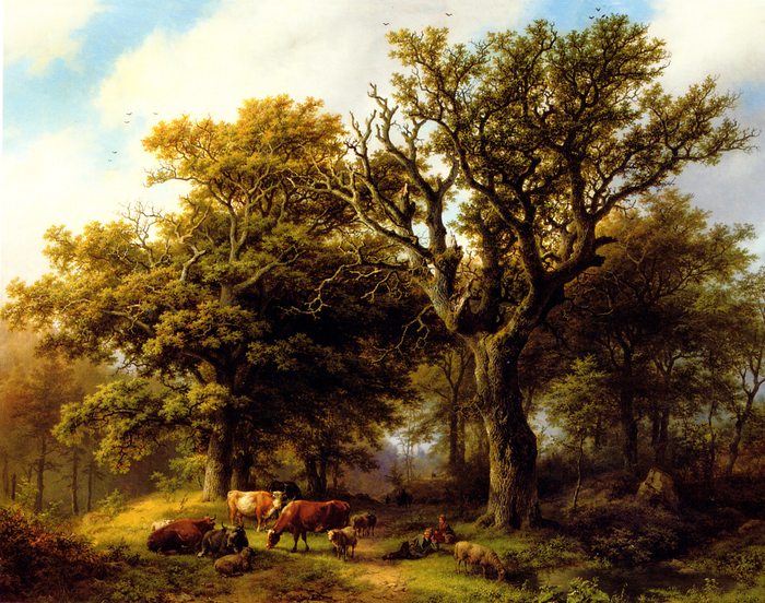 Koekkoek_herdsman-cattle (700x552, 716Kb)