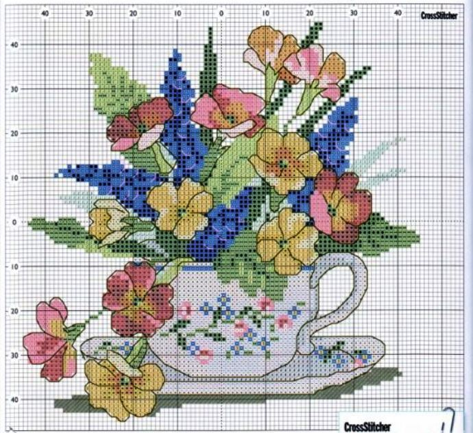 1801104d91356fc612833e96132256e8--cross-stitch-flowers-primroses (690x632, 376Kb)