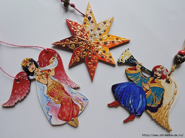Сhristmas tree decorations, set of 10 toys, ShraddhaArt (3) (700x524, 272Kb)