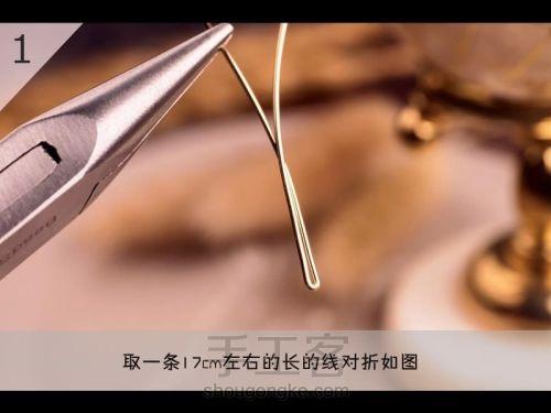 Бабочка из проволоки для подвески своими руками (2) (500x375, 91Kb)