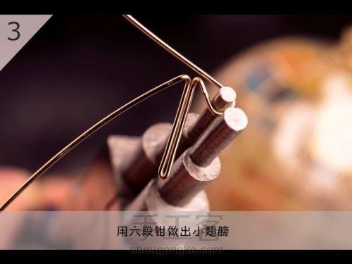 Бабочка из проволоки для подвески своими руками (4) (500x375, 89Kb)
