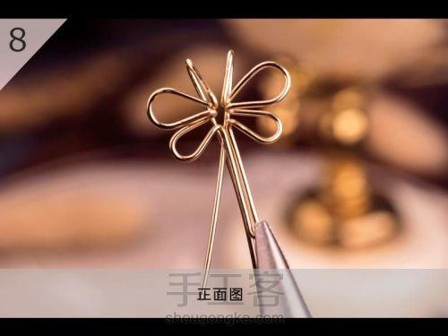 Бабочка из проволоки для подвески своими руками (9) (500x375, 91Kb)