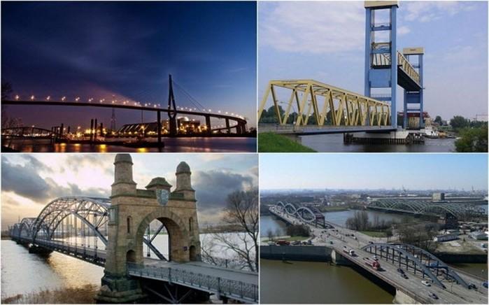 Городские достопримечательности: чемпион Европы по количеству мостов