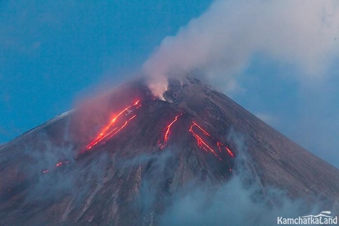 Какие есть действующие вулканы Камчатки