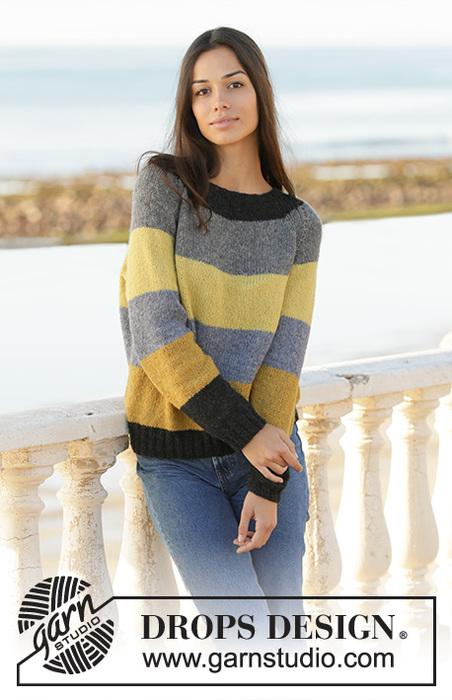 Джемпер Bee Stripes от DROPS Design