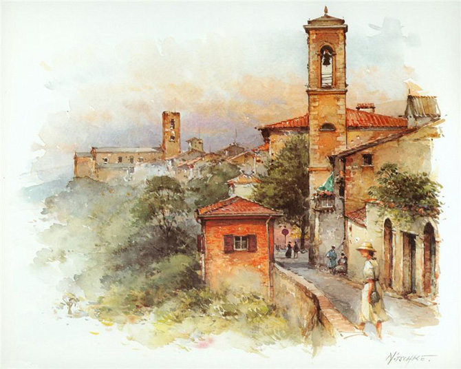 Europe_Cities_Watercolor_Detlev_Nitschke_3 (670x536, 288Kb)