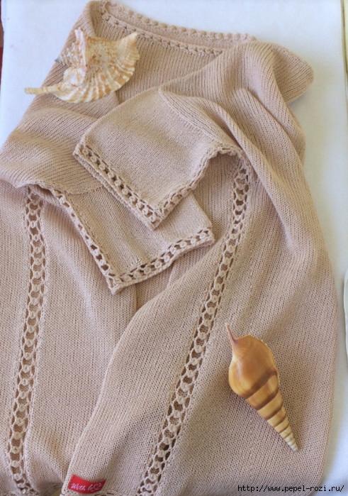 Боковой шов — как красиво связать ажурную дорожку крючком!