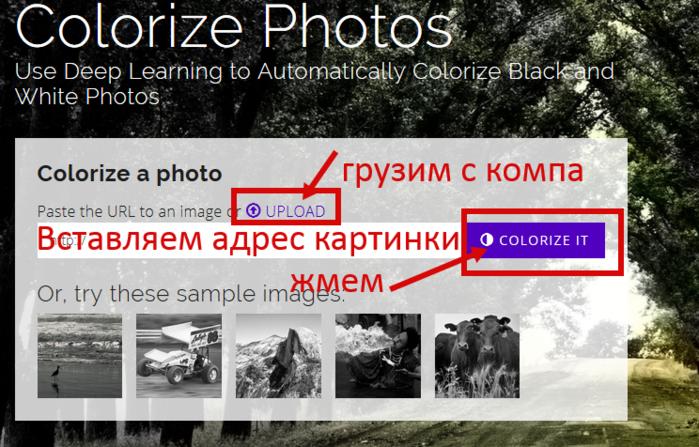 Превращаем черно-белые фото в цветные