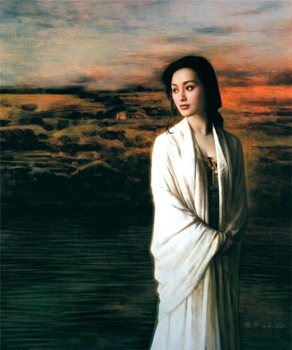 """alt=""""Китайский художник Xie Chuyu"""""""