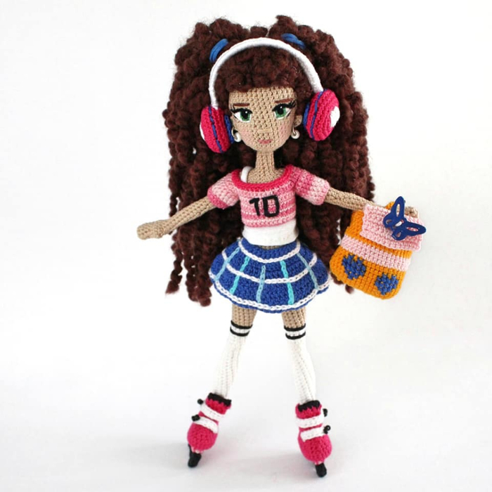 Мода для вязаных кукол