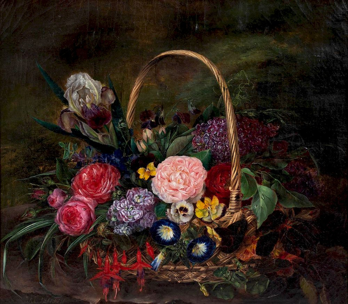 Johan-Laurentz-Jensen-Danish-1800-1856-Untitled-Still-Life (700x612, 526Kb)