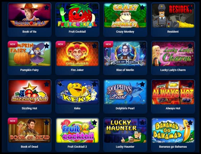 Casino PM игровые автоматы с выводом денег на карту