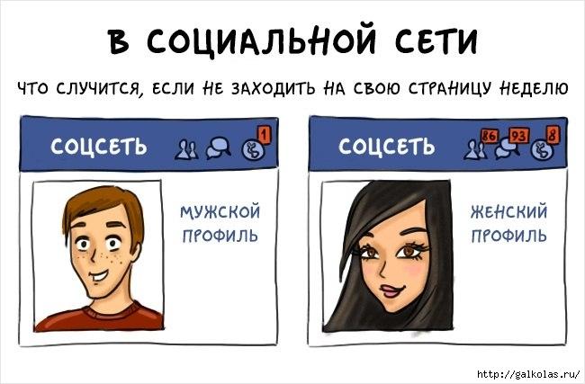 комиксы об отличии женщин и мужчин 5 (650x427, 122Kb)