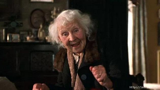 """Как """"бабуля"""" круто разрулила необычную ситуацию!"""