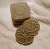 [+] Увеличить - Мыло натуральное с зеленой глиной и эфирным маслом мяты