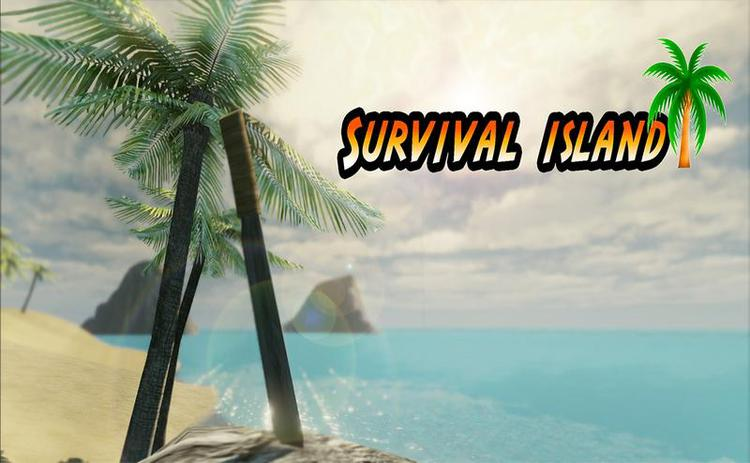 Survival Island Adventures Simulator Poster