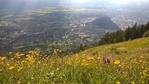 Вид на Зальцбург с горы Гайсберг