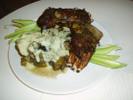 [+] Увеличить - Бараньи ребрышки с овощным рататуем в сырном соусе!