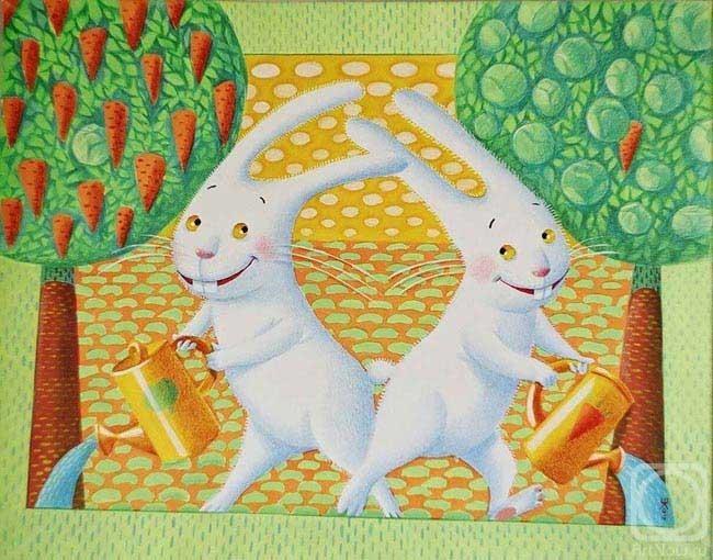 зайчишки-братишки