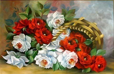 Набор для вышивания Садовые розы Золотое руно ЛЦ-031.