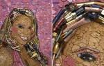 Mariah Carey, выполненная из грима Jason Mecier.